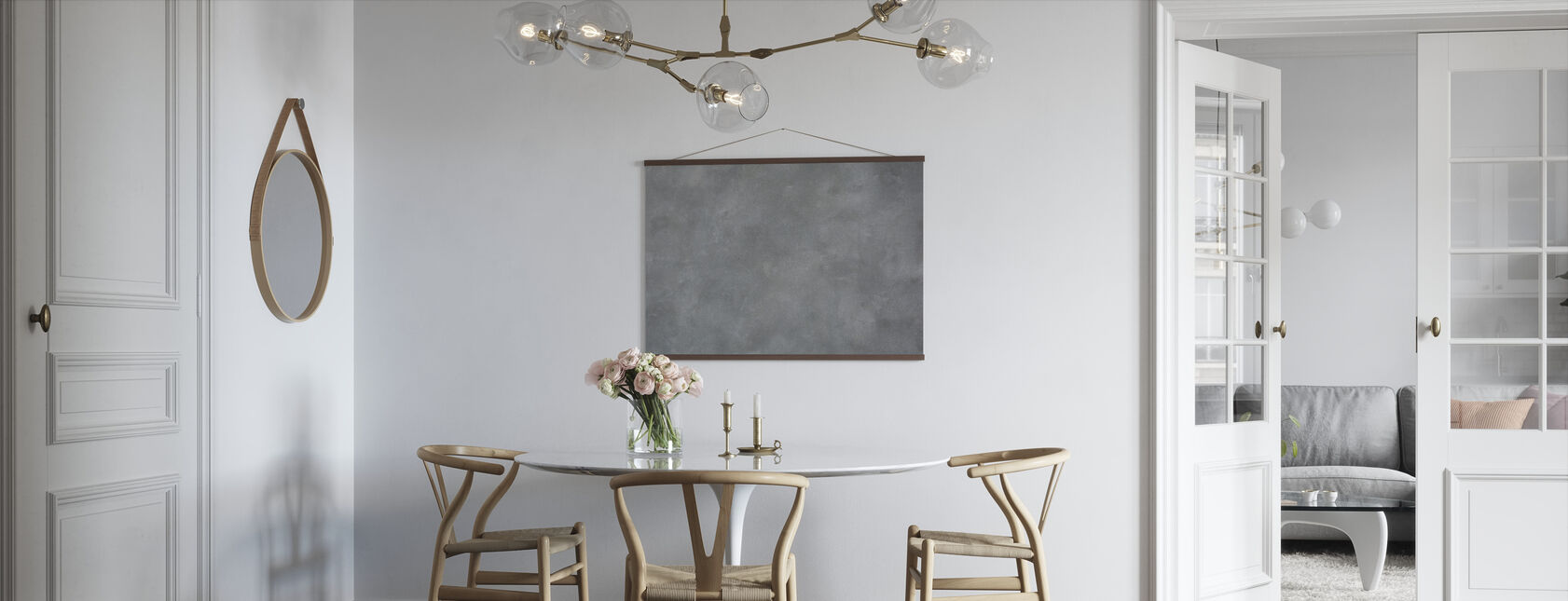 Frayed Concrete Wall - Poster - Kitchen