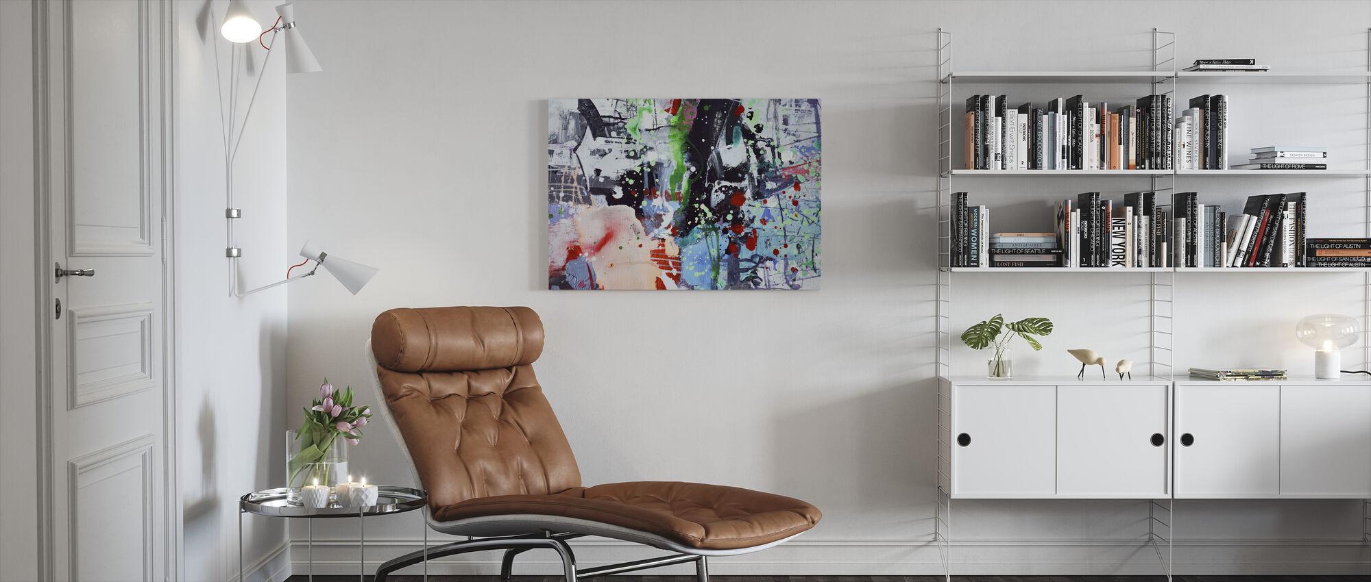 Defacement - Canvas print - Living Room