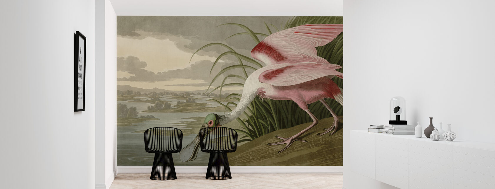 Vogels van Amerika - John James Audubon - Behang - Gang