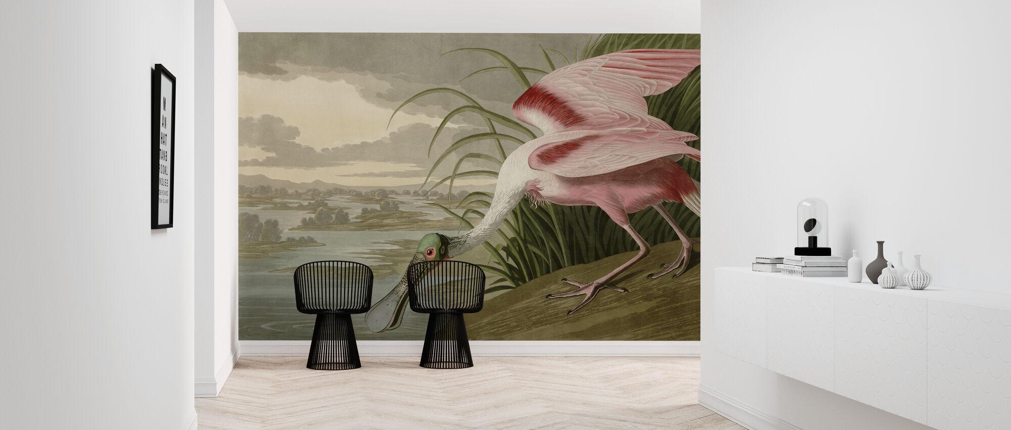 Birds of America - John James Audubon - Wallpaper - Hallway