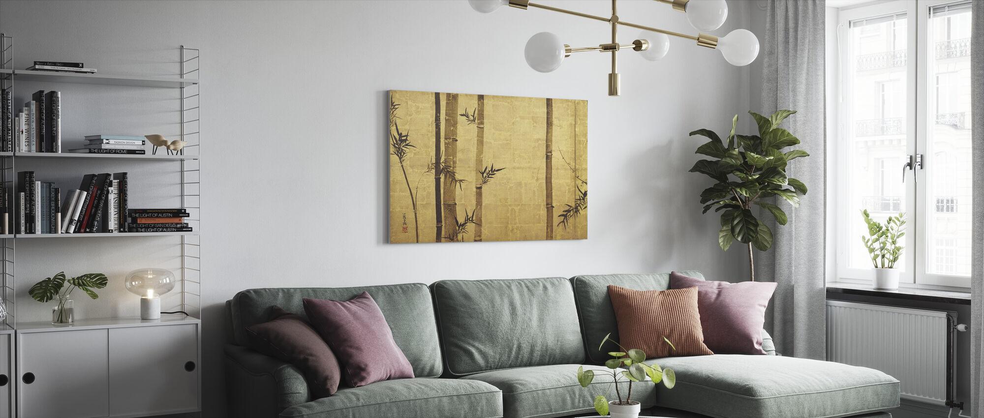 Bamboo Zen - Canvas print - Living Room