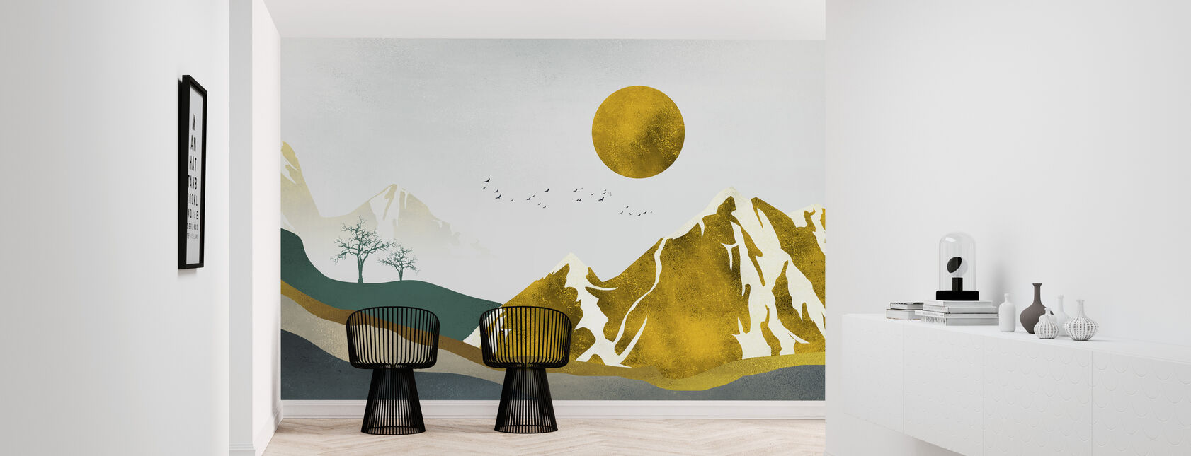 Shiver Landschaft - Tapete - Flur