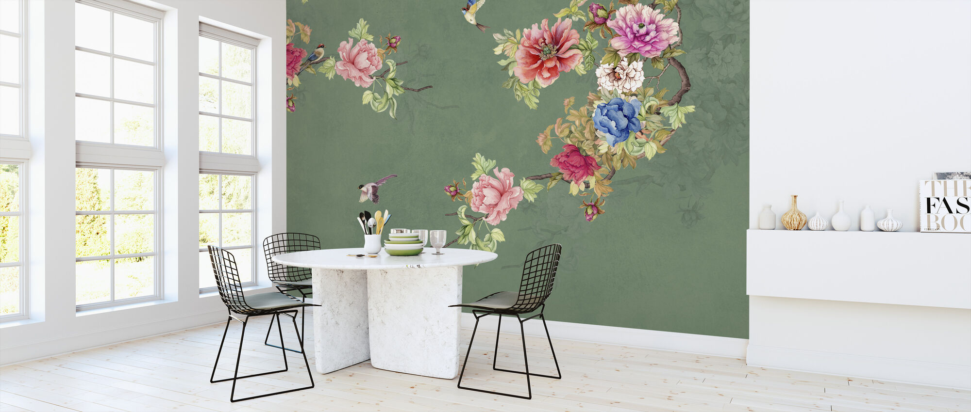 Blooming Coco - Wallpaper - Kitchen