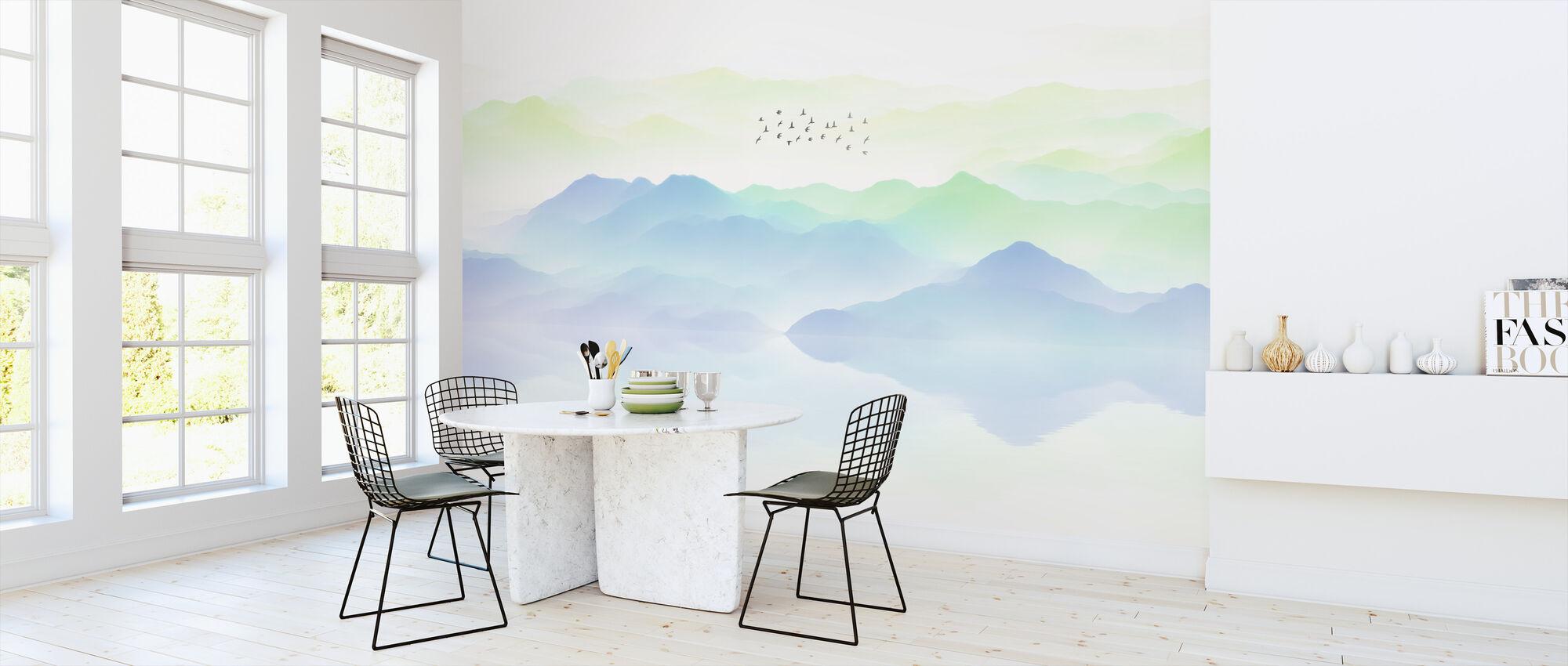 La Topography - Wallpaper - Kitchen