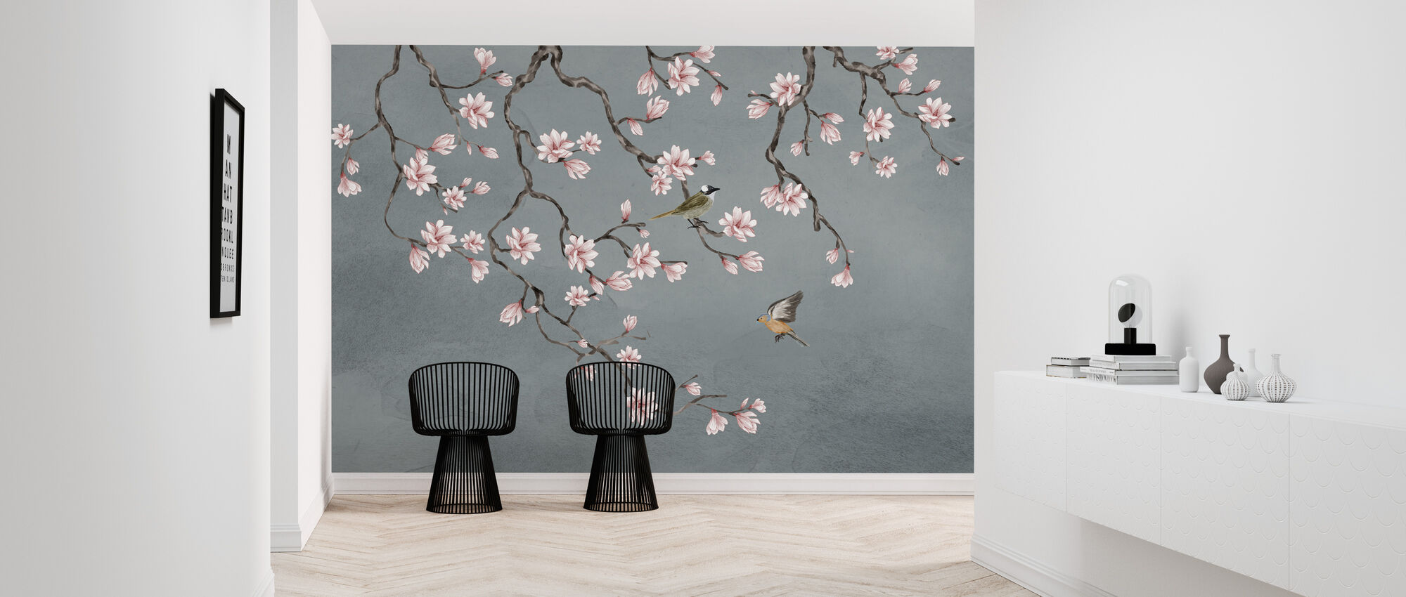 Birds Meeting Place - Wallpaper - Hallway