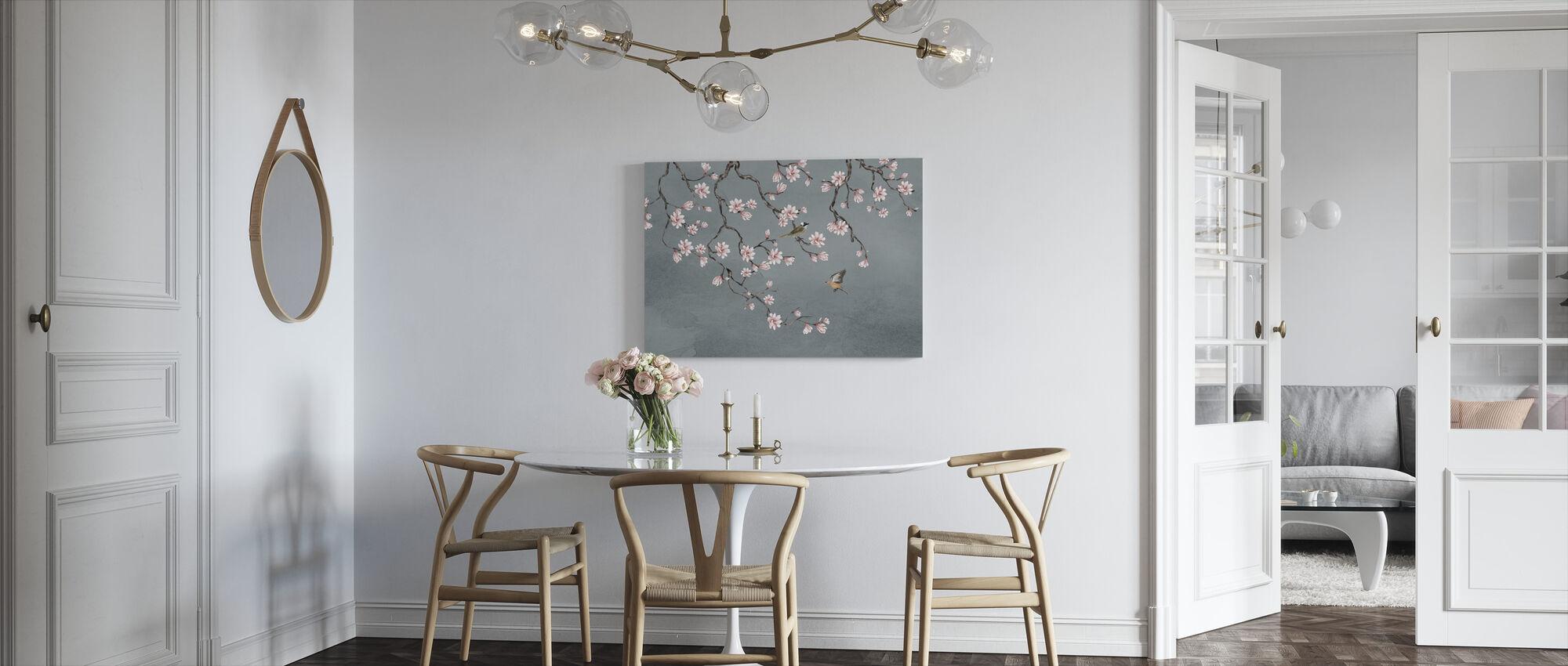 Vogels Meeting Place - Canvas print - Keuken