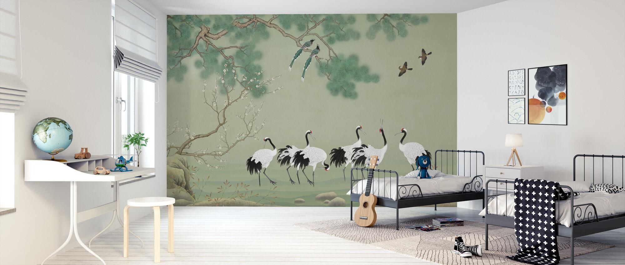 En el pasto - Papel pintado - Cuarto de niños