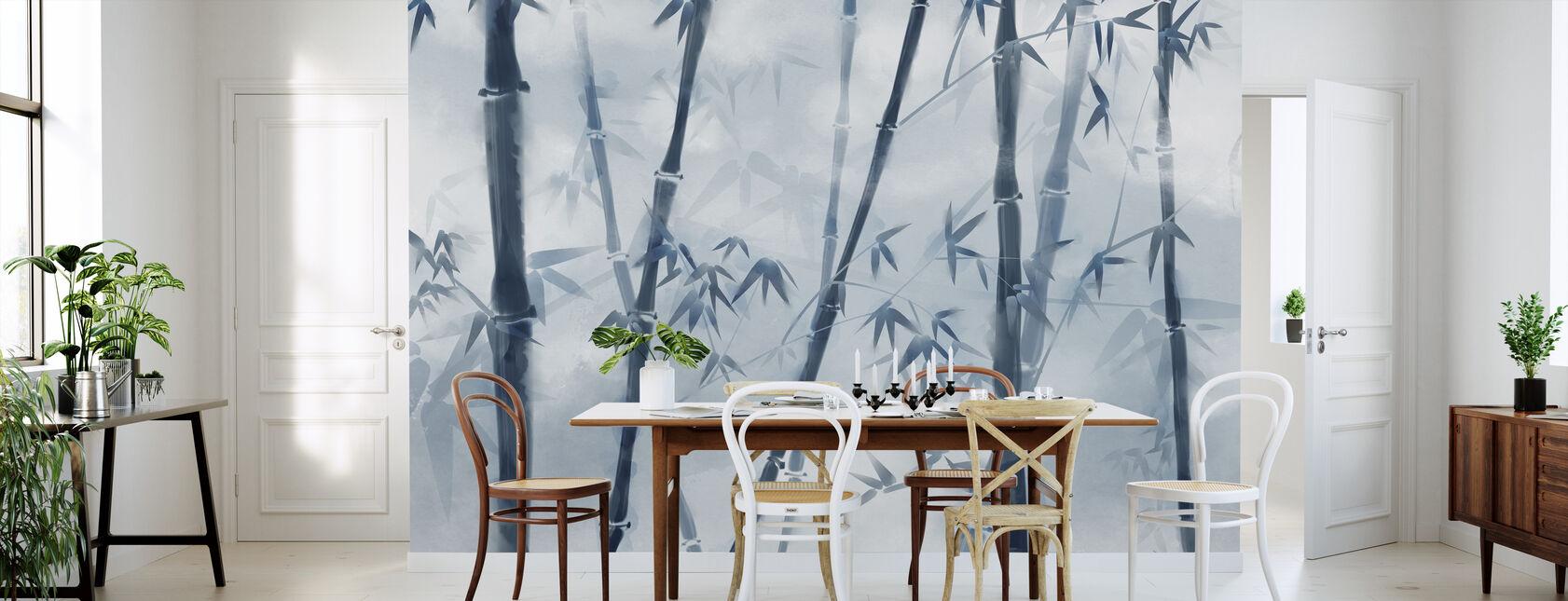 Bambú Iluminador - Papel pintado - Cocina
