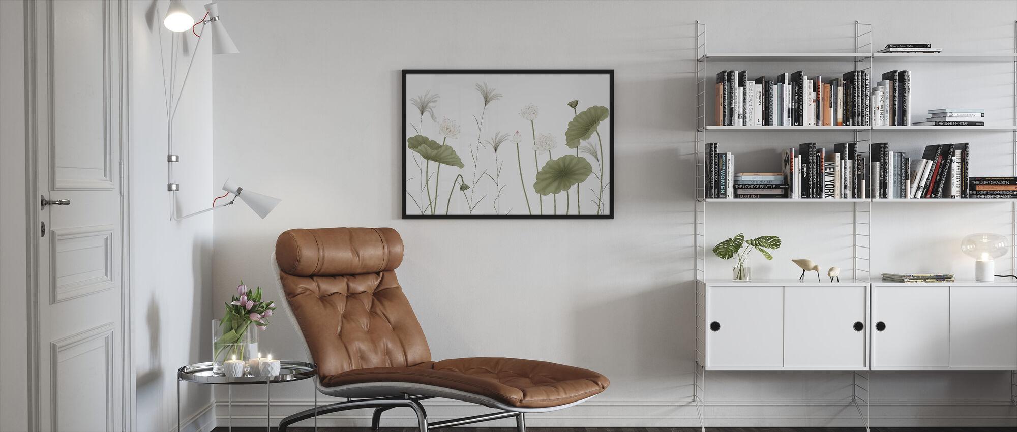 Let It Grow - Framed print - Living Room