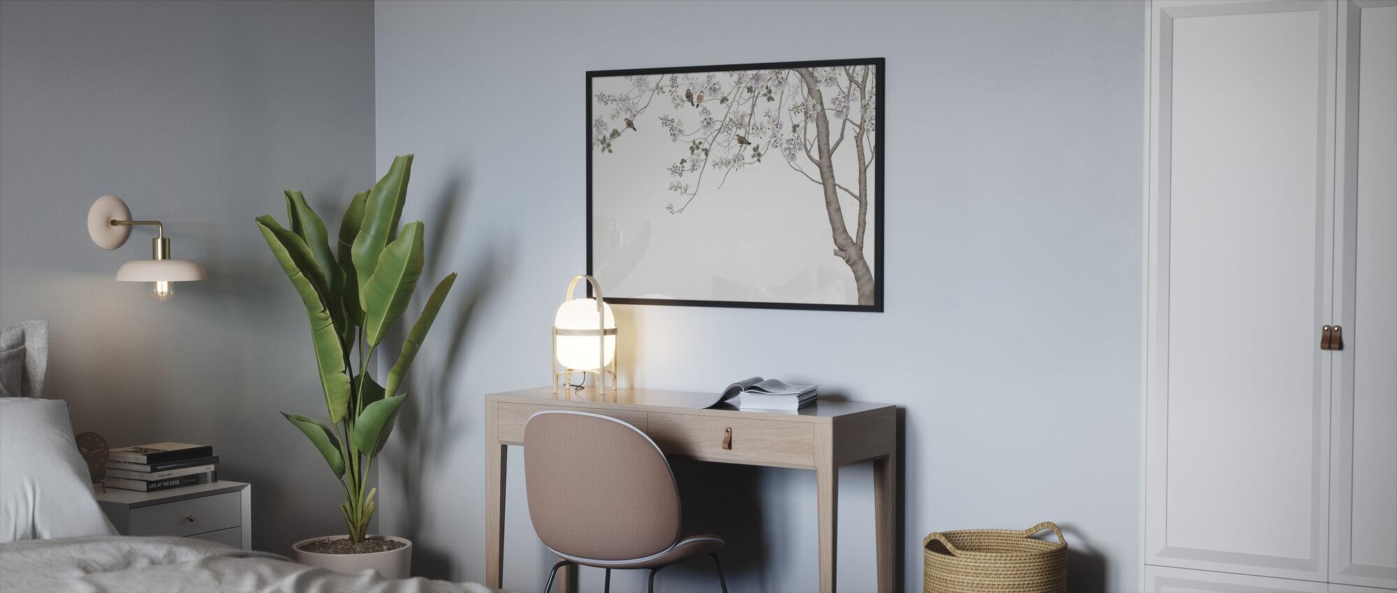 Bird Treet - Innrammet bilde - Soverom