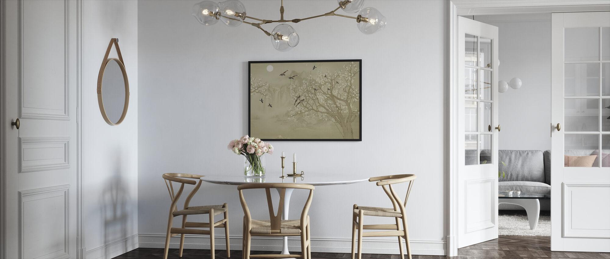 Fugler hjem - Hazel - Innrammet bilde - Kjøkken