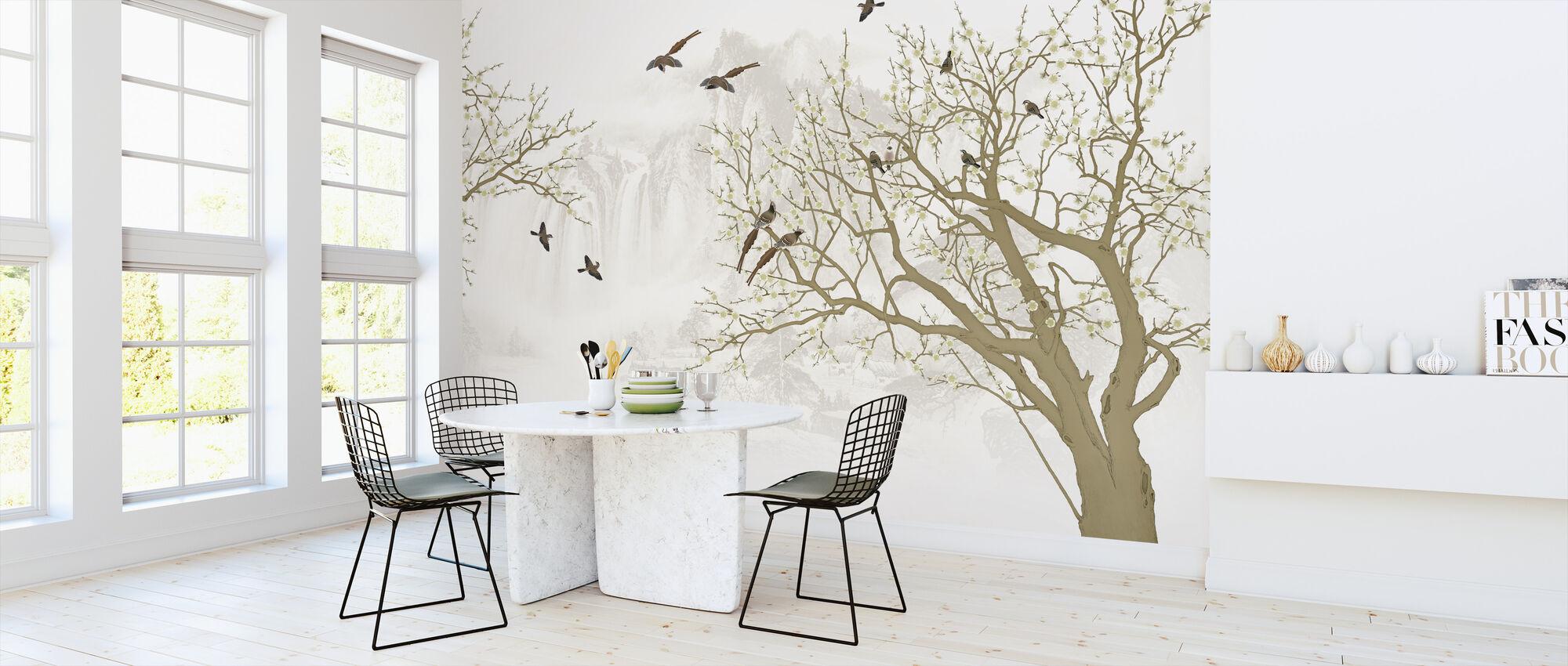 Birds Home - Wallpaper - Kitchen