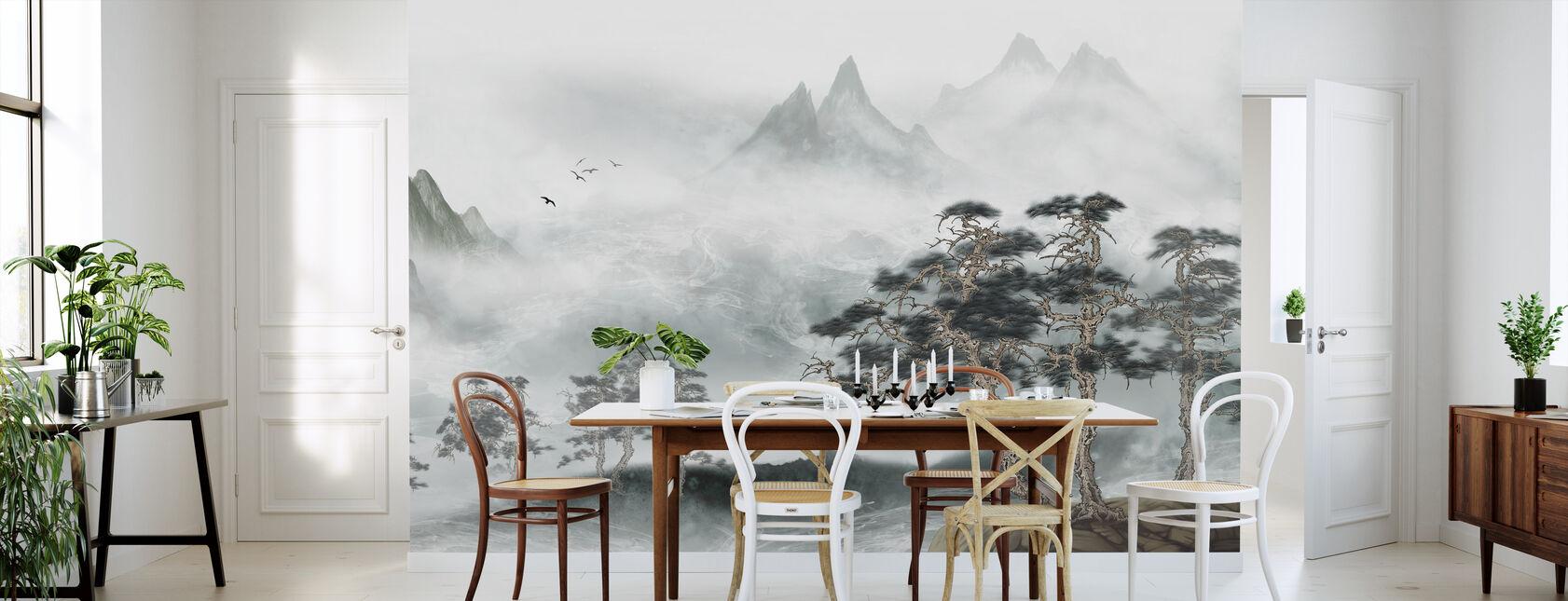 Misty Landschaft - Tapete - Küchen