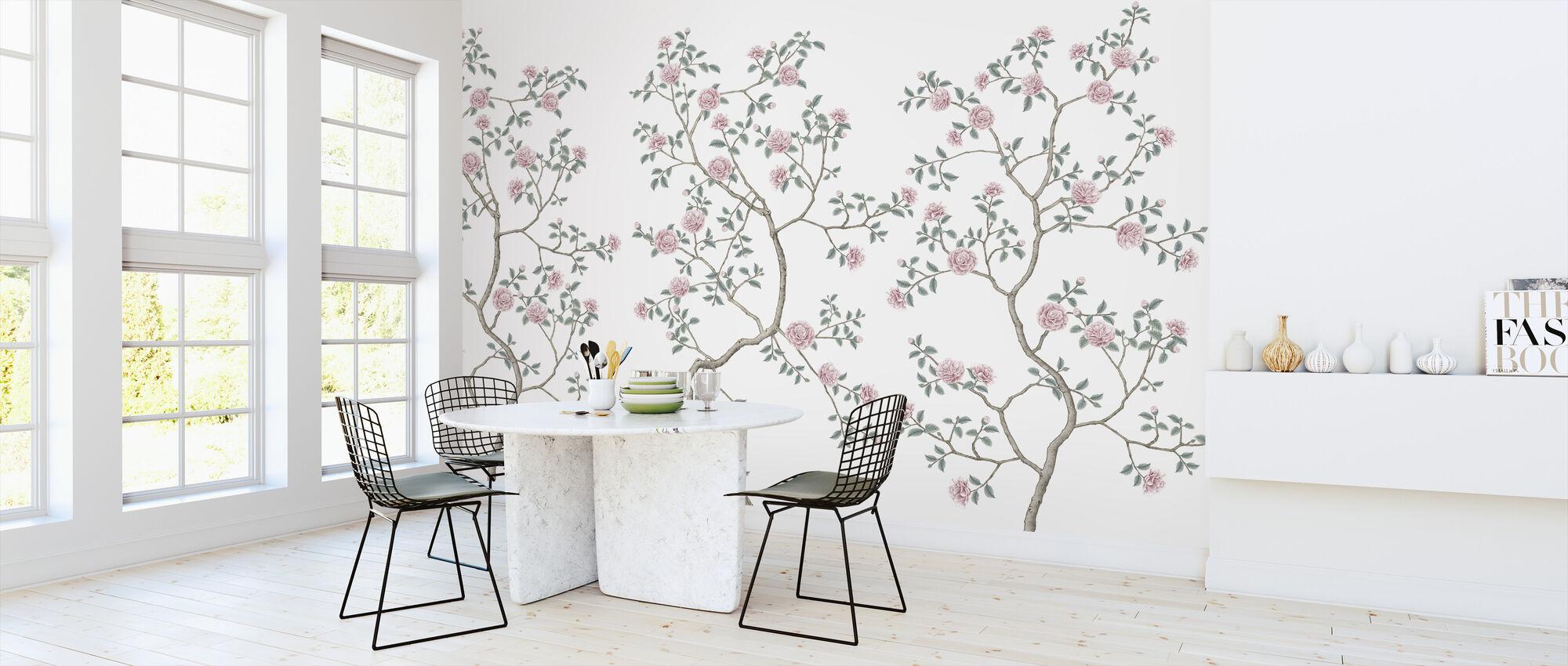 Flowering Chinoiserie - Wallpaper - Kitchen
