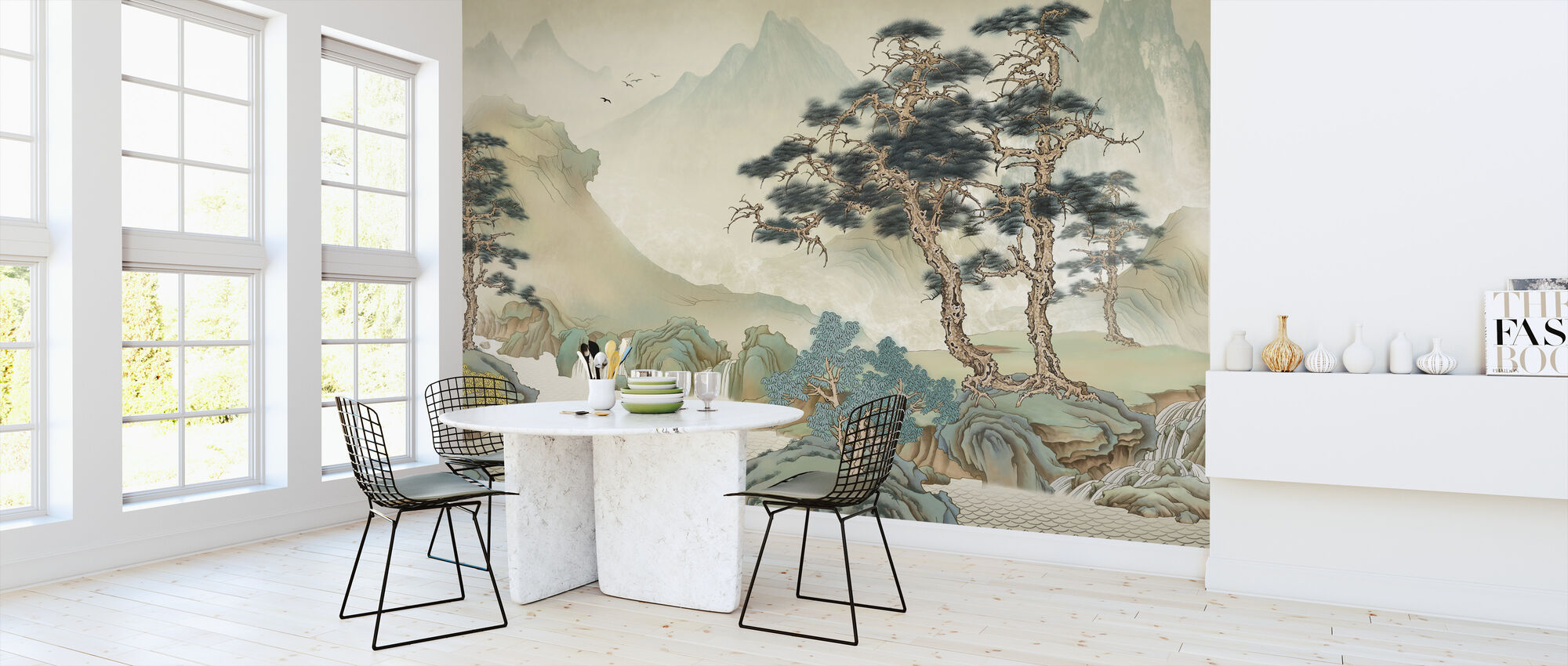 Jiangs Landscape - Wallpaper - Kitchen