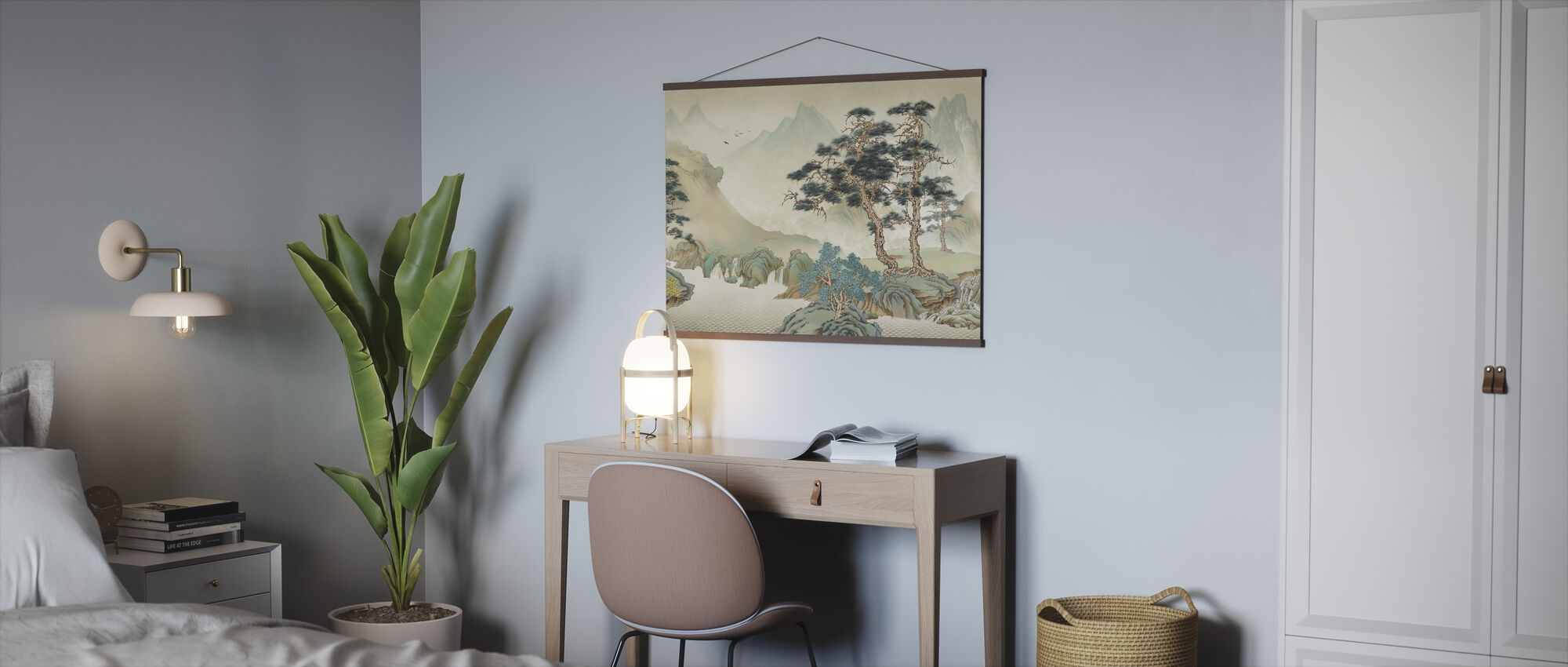 Jiangs Landskap - Poster - Kontor