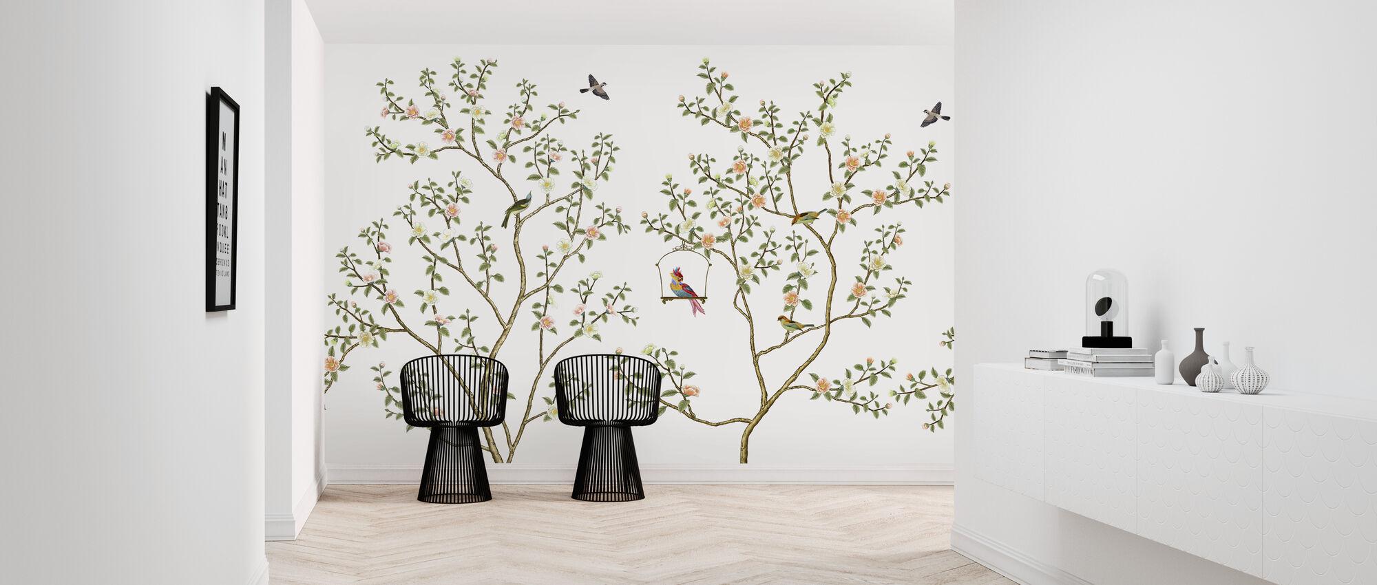 Birds Hangout - Wallpaper - Hallway