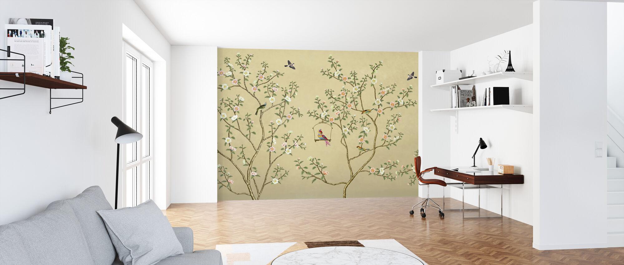 New Chinoiserie - Hazel - Wallpaper - Office