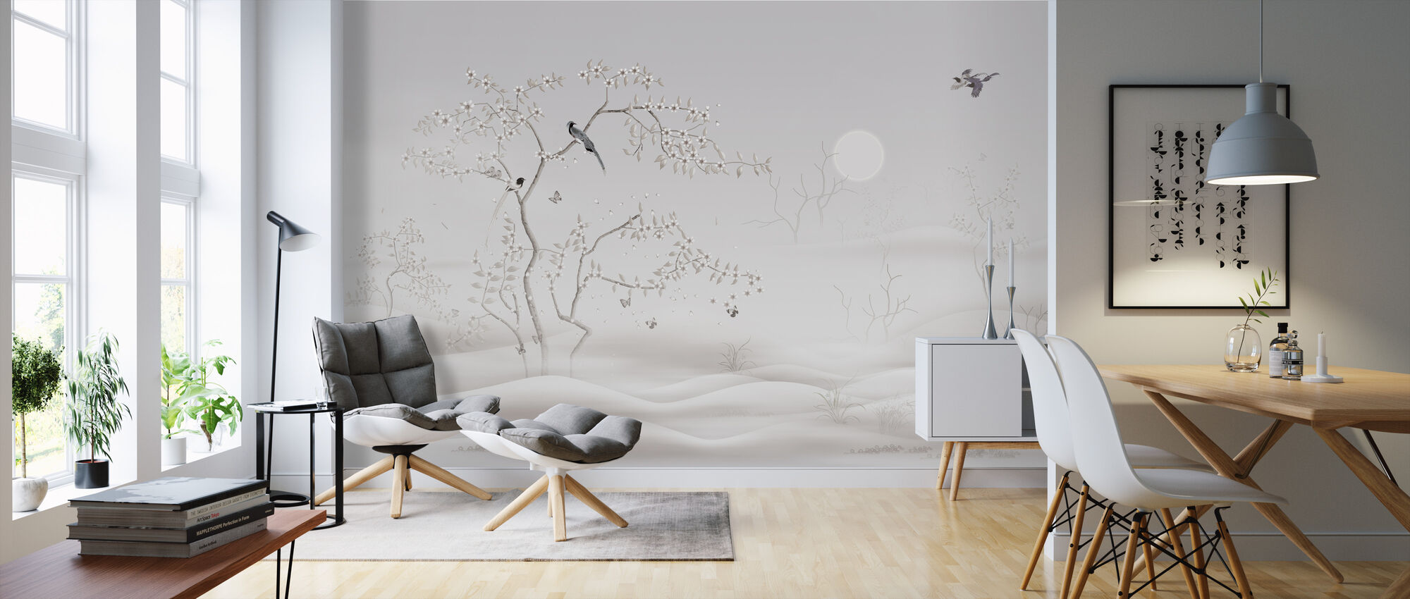 Thesaurus Sunset - Wallpaper - Living Room