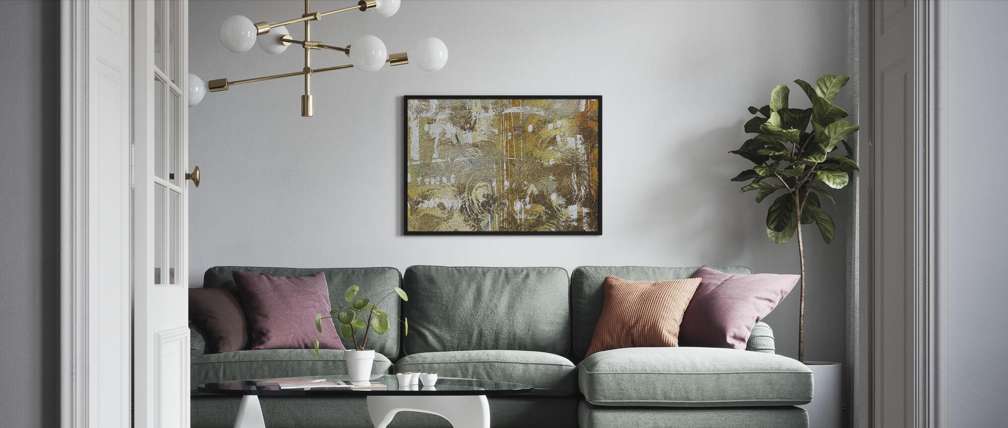 Hazel Mould - Framed print - Living Room