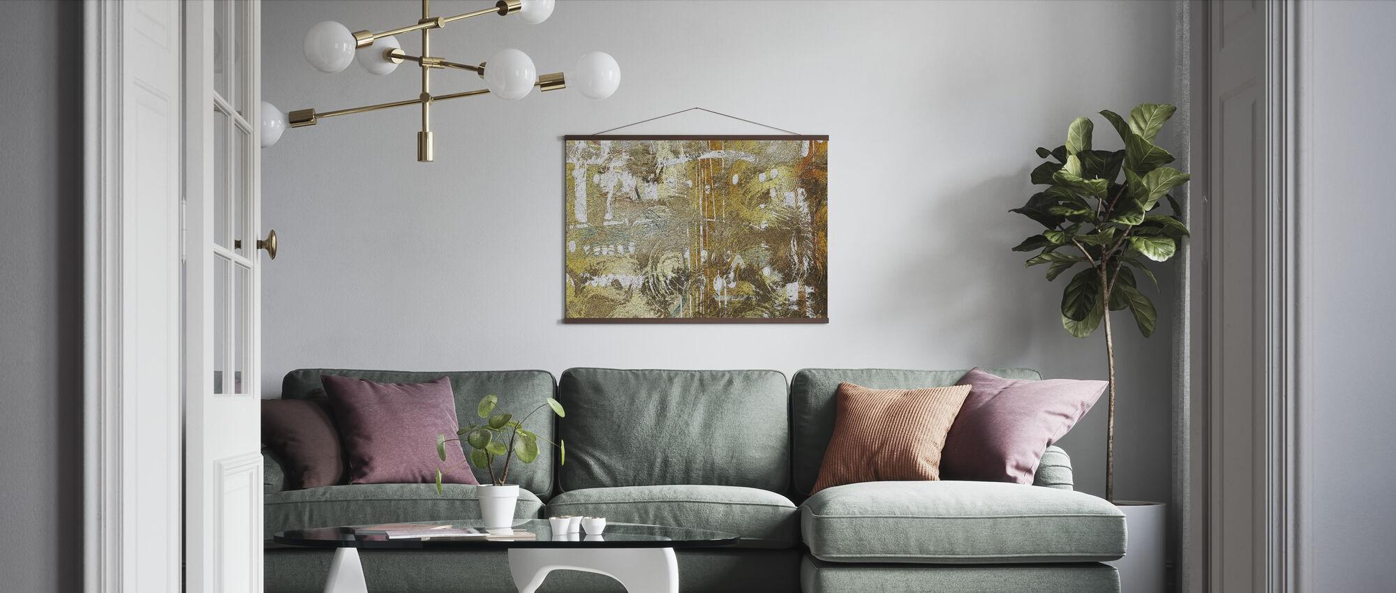 Hazel Mould - Poster - Living Room
