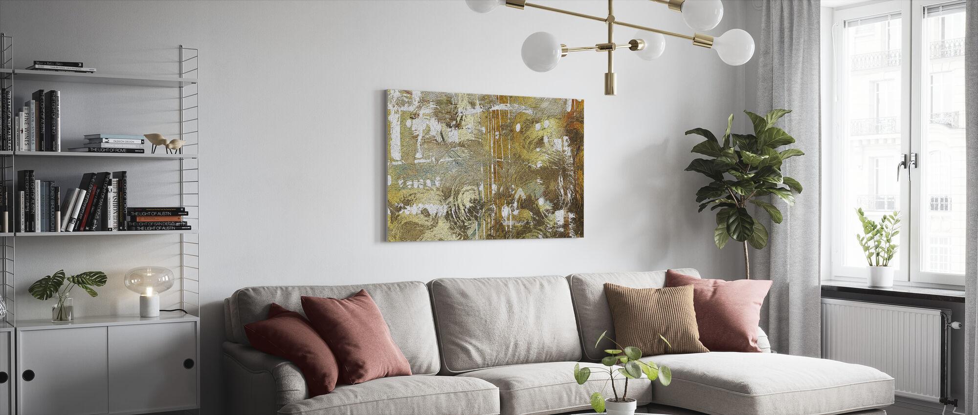 Hazel Mould - Canvas print - Living Room