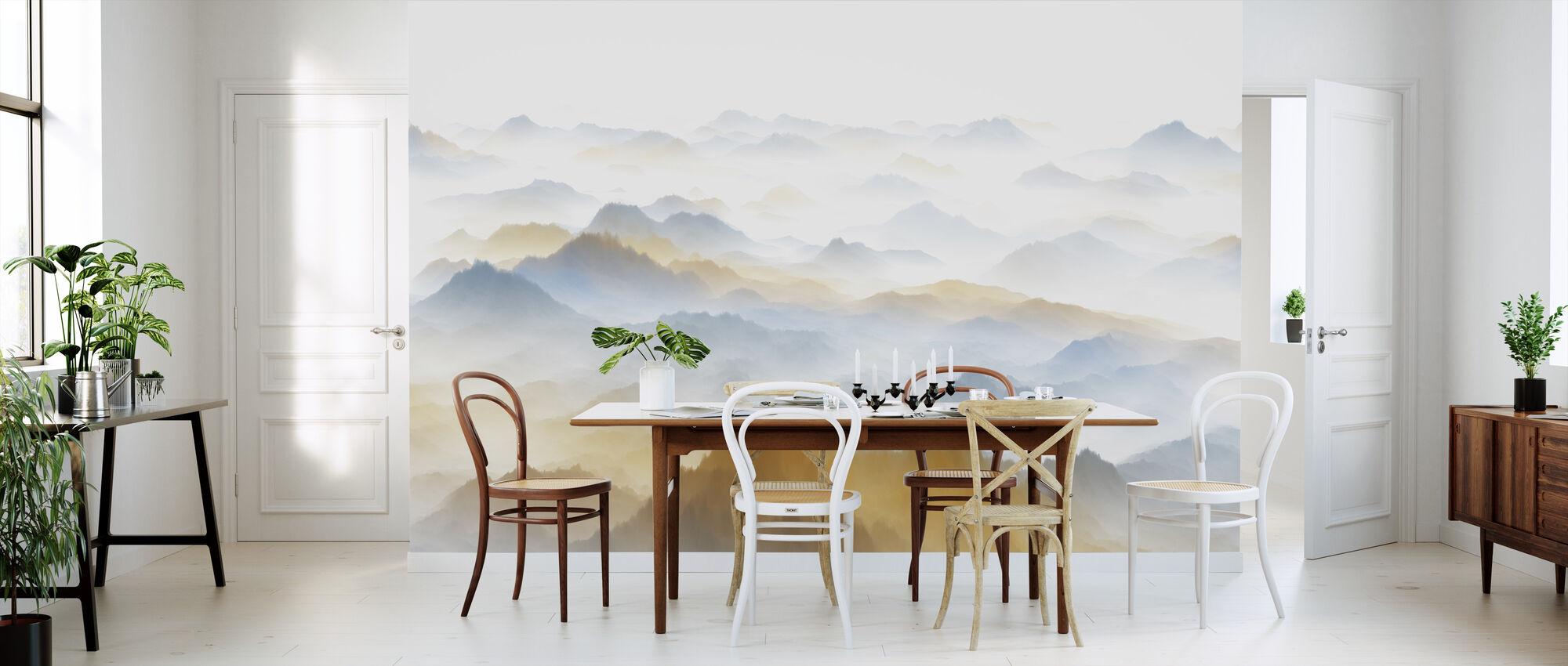 Murky Scenery - Wallpaper - Kitchen