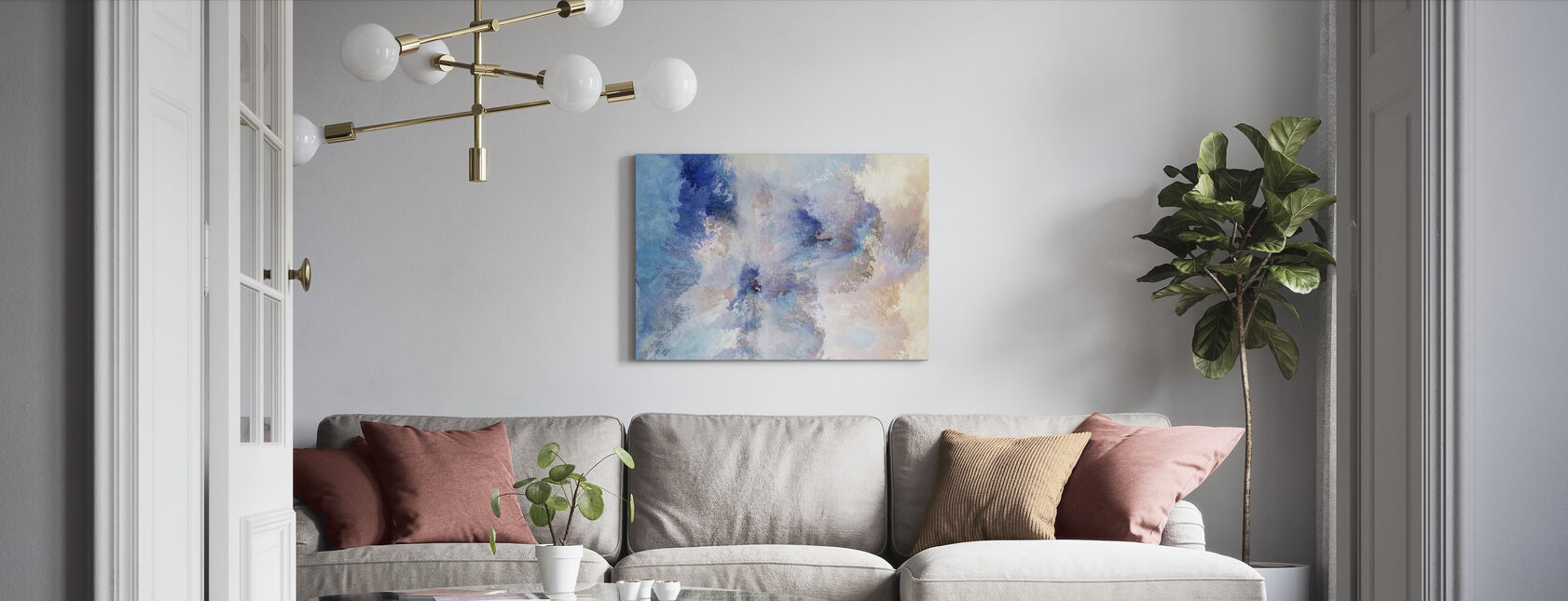 Bliss - Canvas print - Living Room