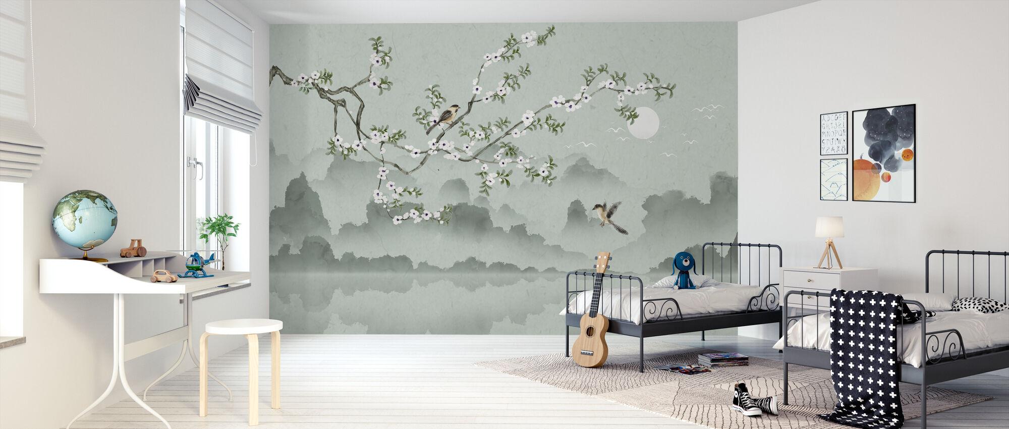 Mirador de Pájaros - Papel pintado - Cuarto de niños