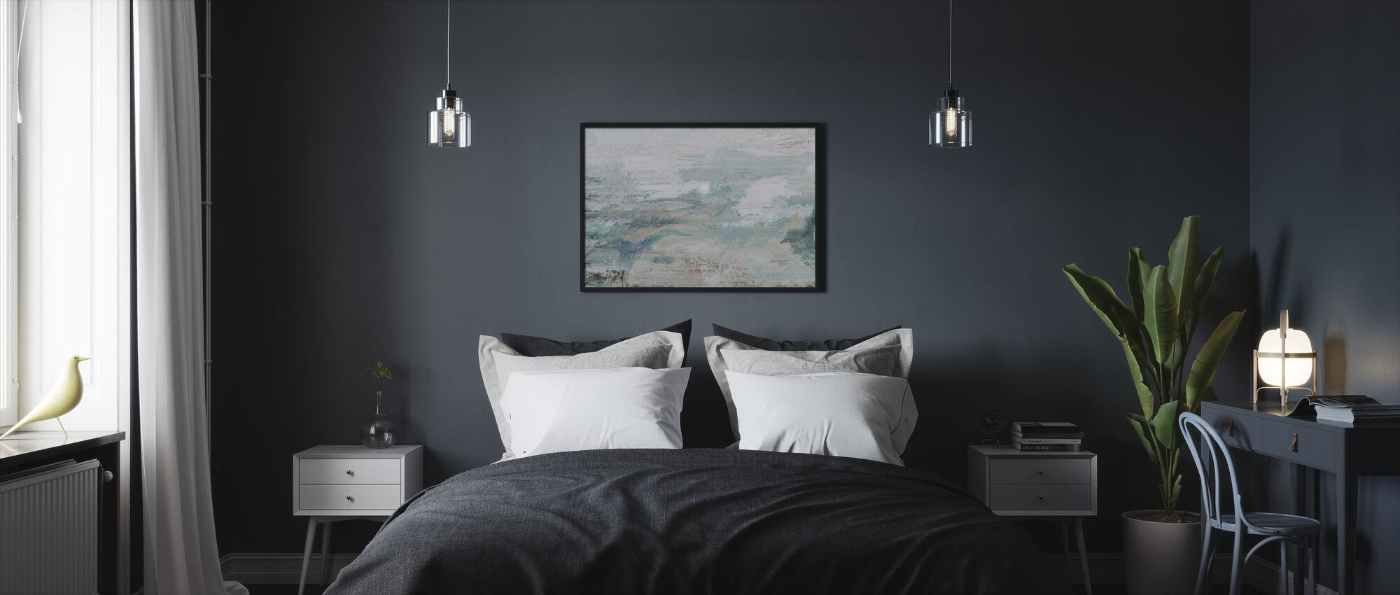 Meri- ja taivaanuute - Kehystetty kuva - Makuuhuone