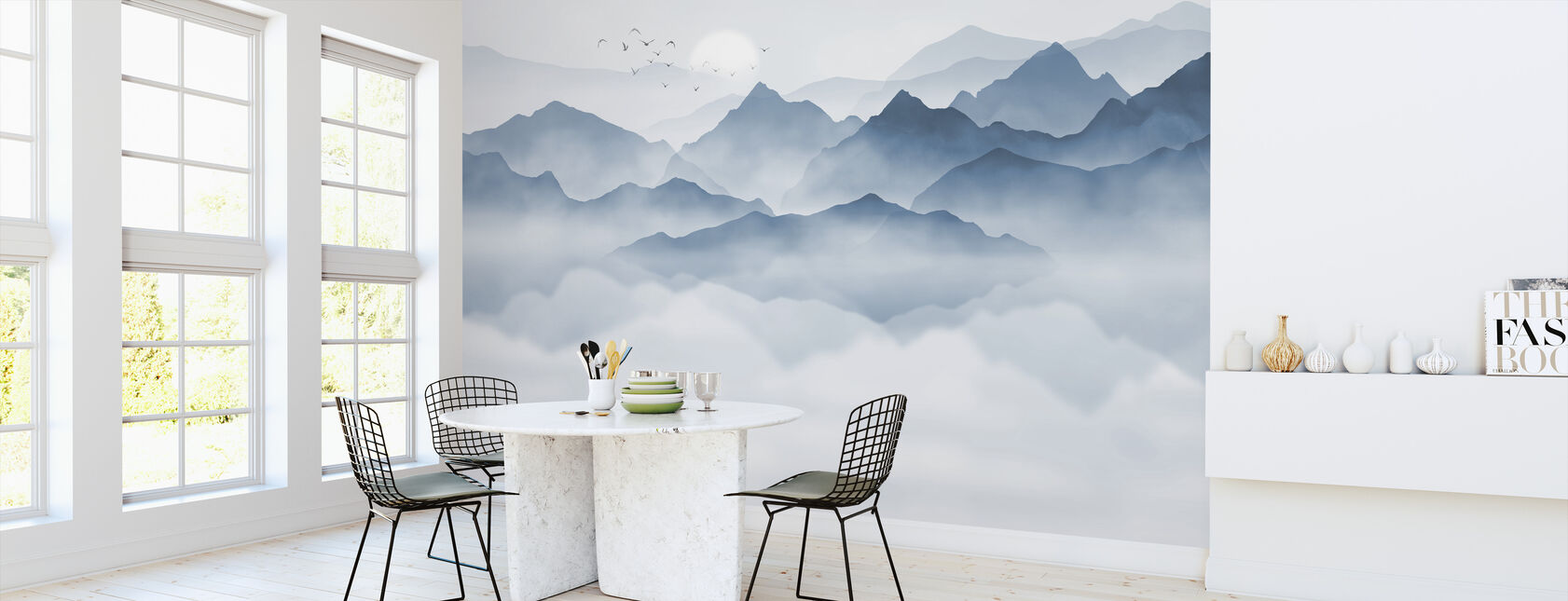 Mountainous - Wallpaper - Kitchen