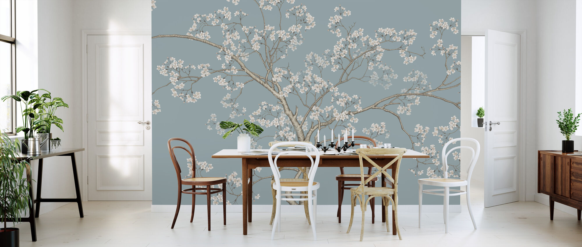 The Tree - Bluefin - Wallpaper - Kitchen