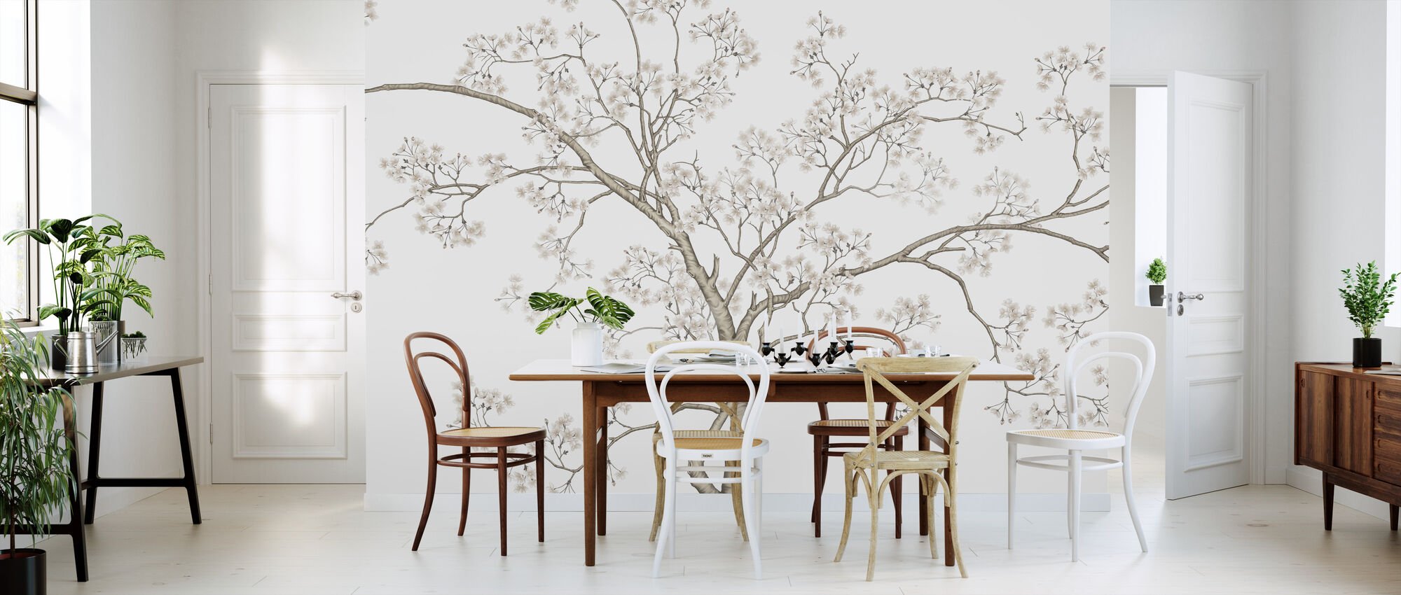The Tree - Wallpaper - Kitchen