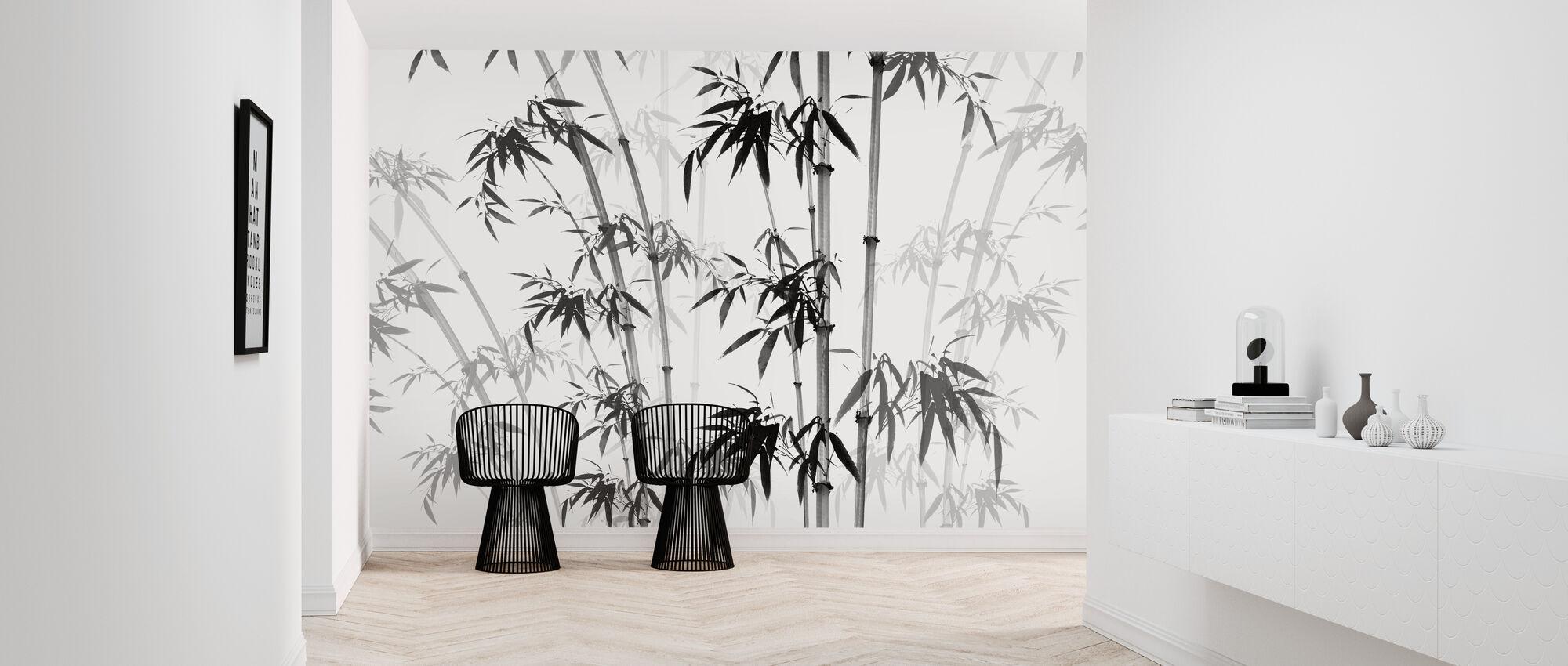 Bamboo Noix - Wallpaper - Hallway