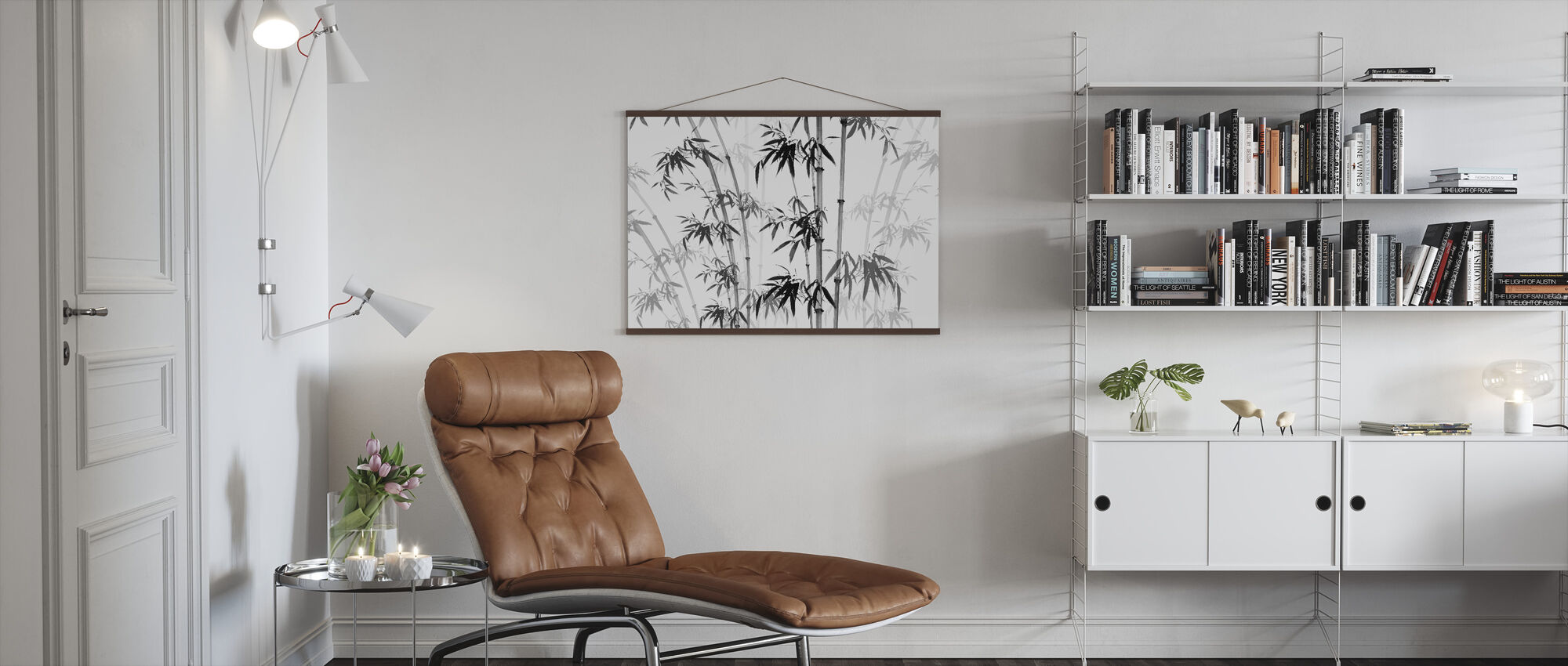 Bamboo Noix - Poster - Living Room