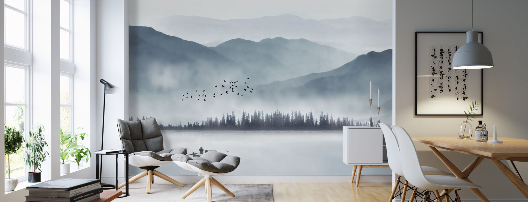 Fisherman - Wallpaper - Living Room
