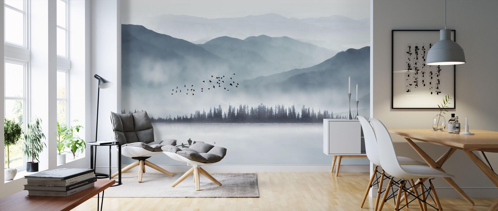 Fisherman - Wallpaper - Living Room