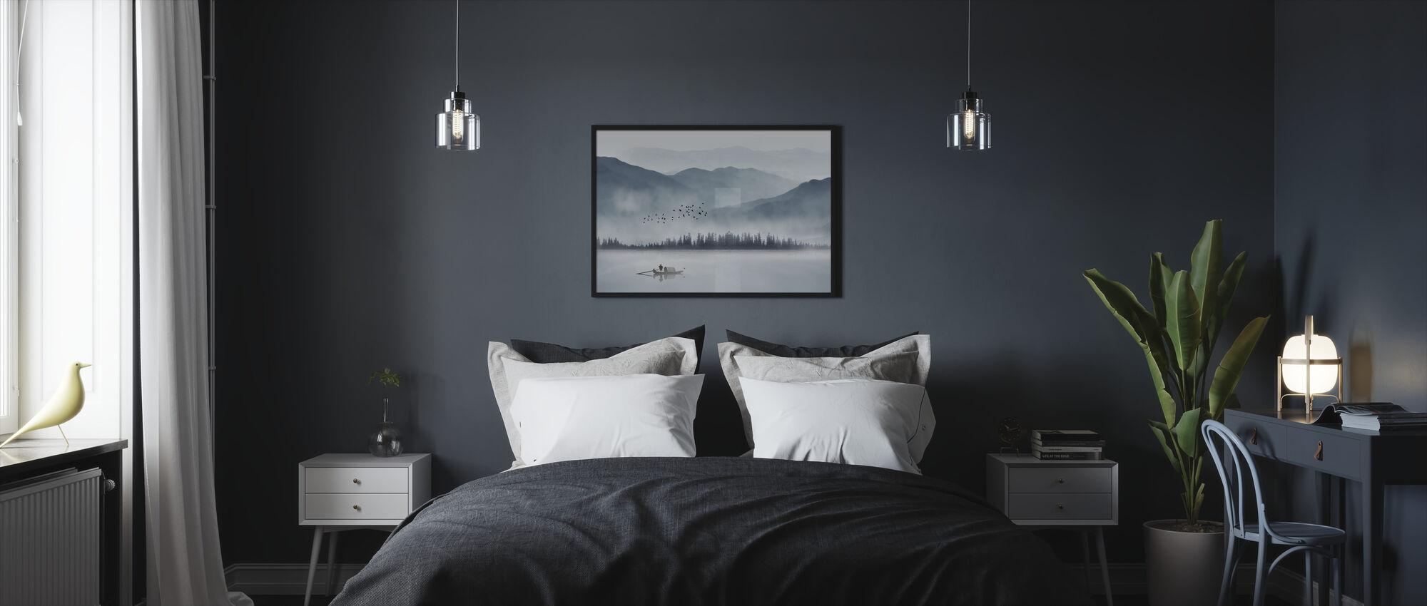Pescador - Print enmarcado - Dormitorio