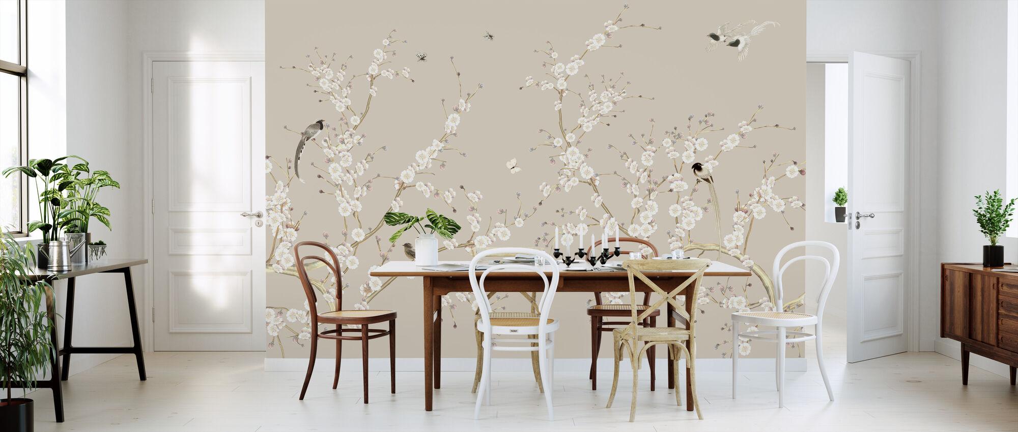Flowering - Wallpaper - Kitchen