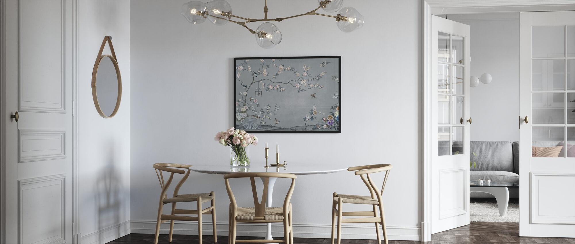 Birds Eden - Framed print - Kitchen