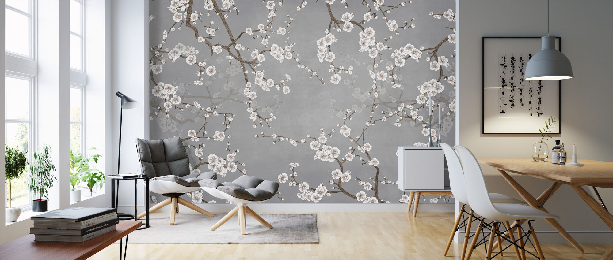 Branches - Wallpaper - Living Room