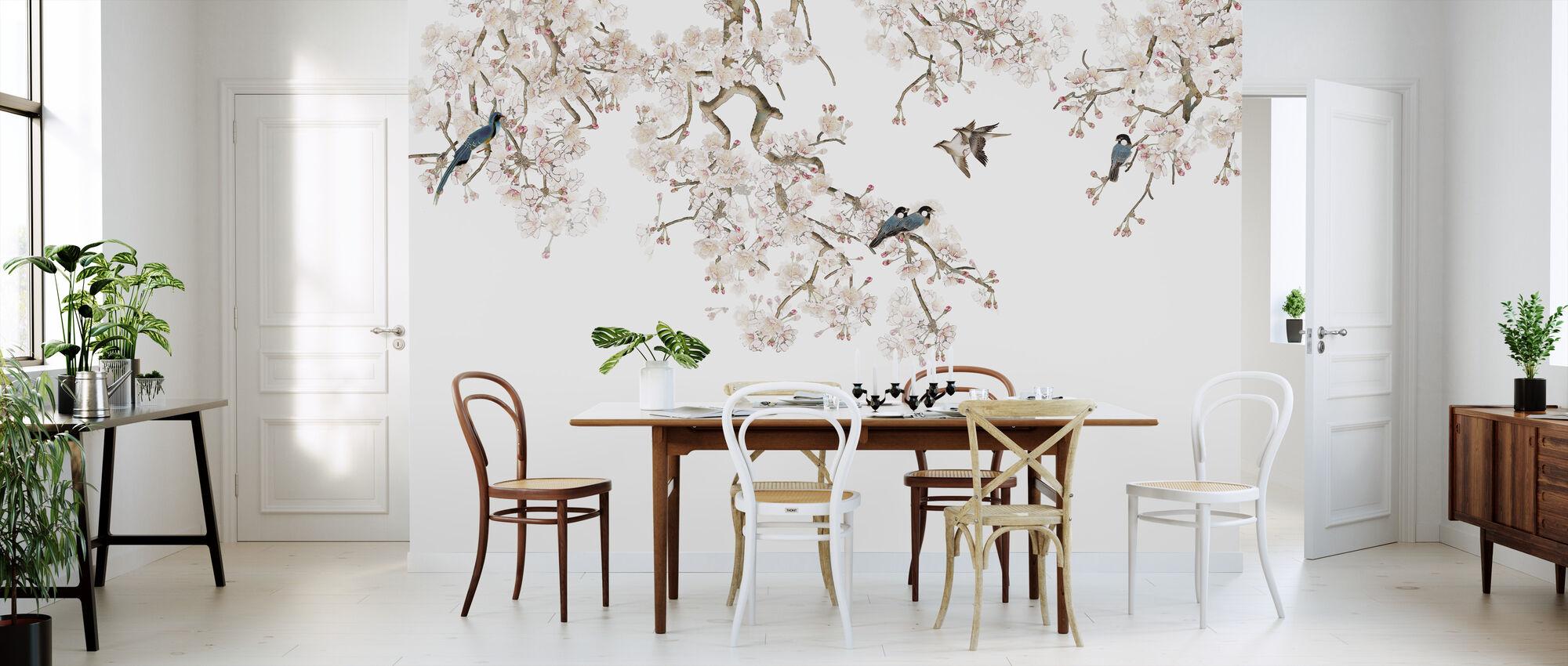 Birds Hangout - Wallpaper - Kitchen