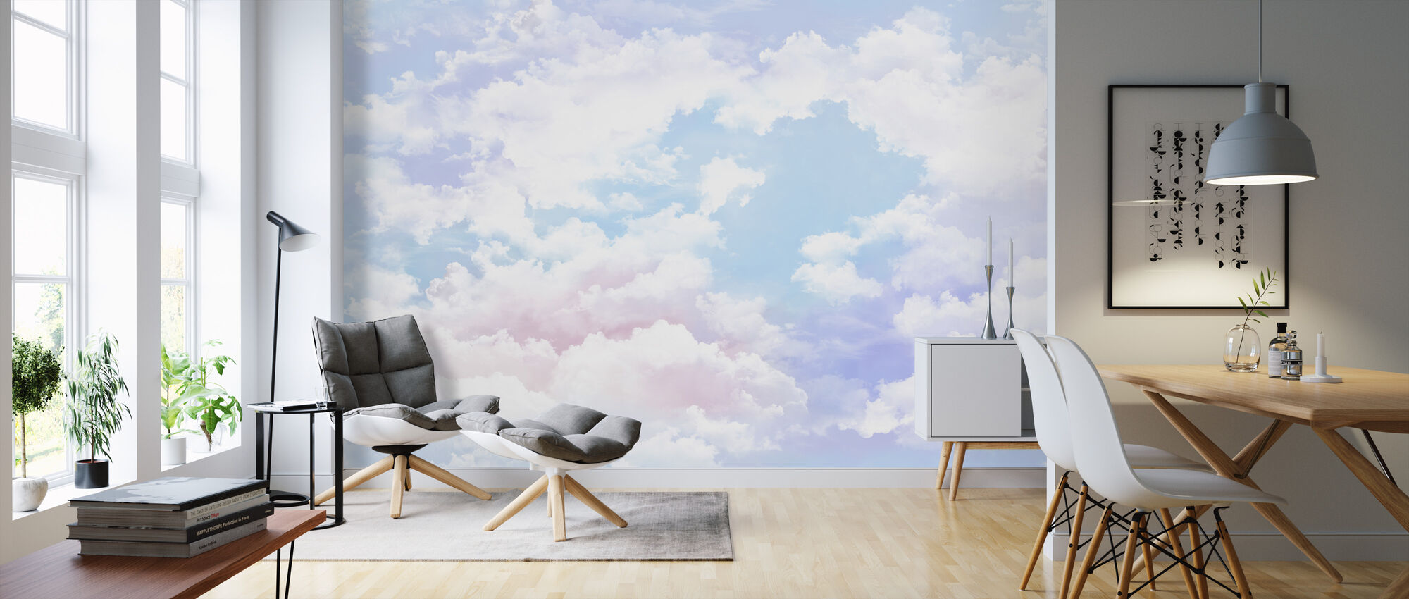 Into the Sky - Wallpaper - Living Room