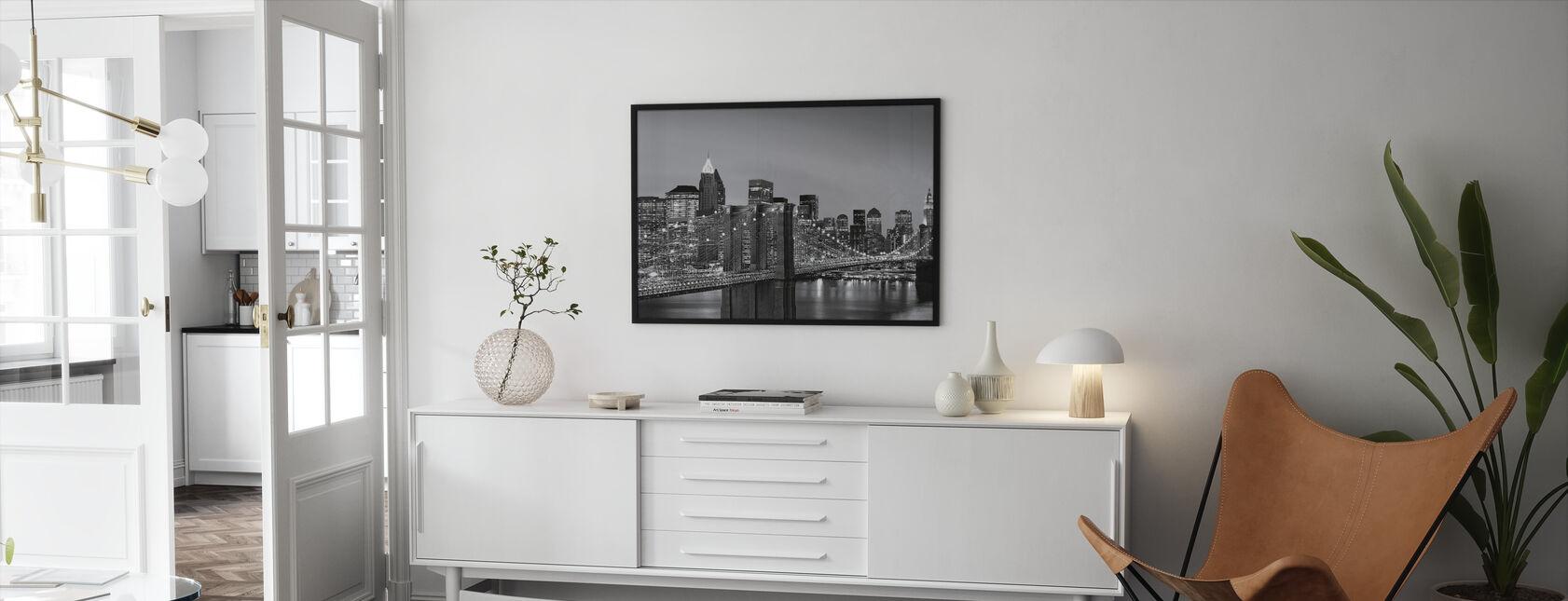 New York Skyline - Framed print - Living Room