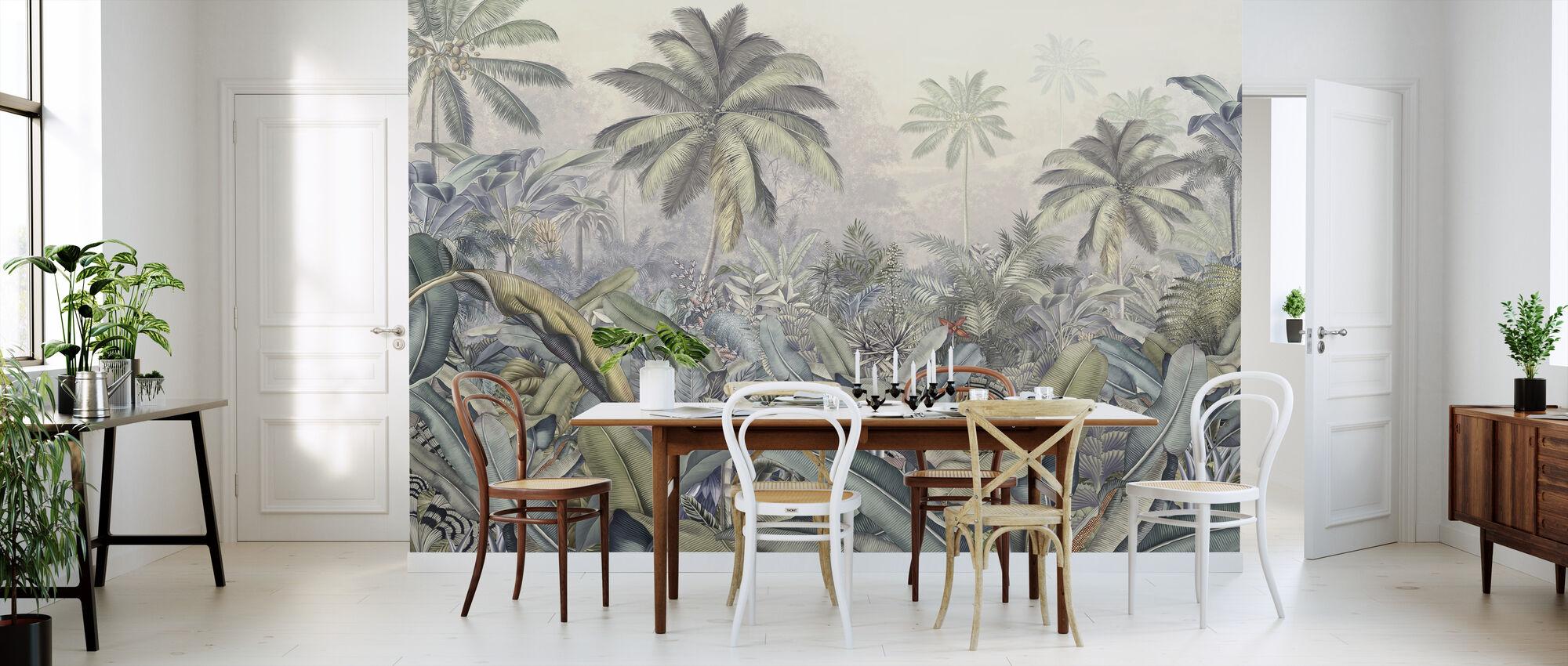 Tropische jungle - Levendig - Behang - Keuken