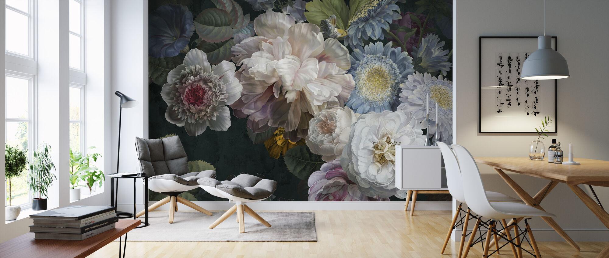 Lustre Arrangement - Behang - Woonkamer