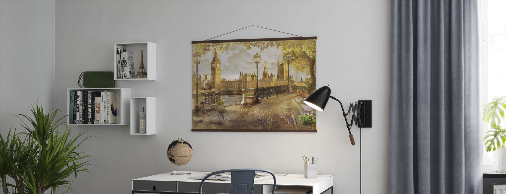London Big Ben View - Poster - Kantoor