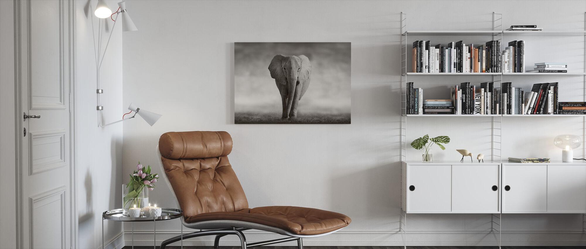 Olifant - Canvas print - Woonkamer
