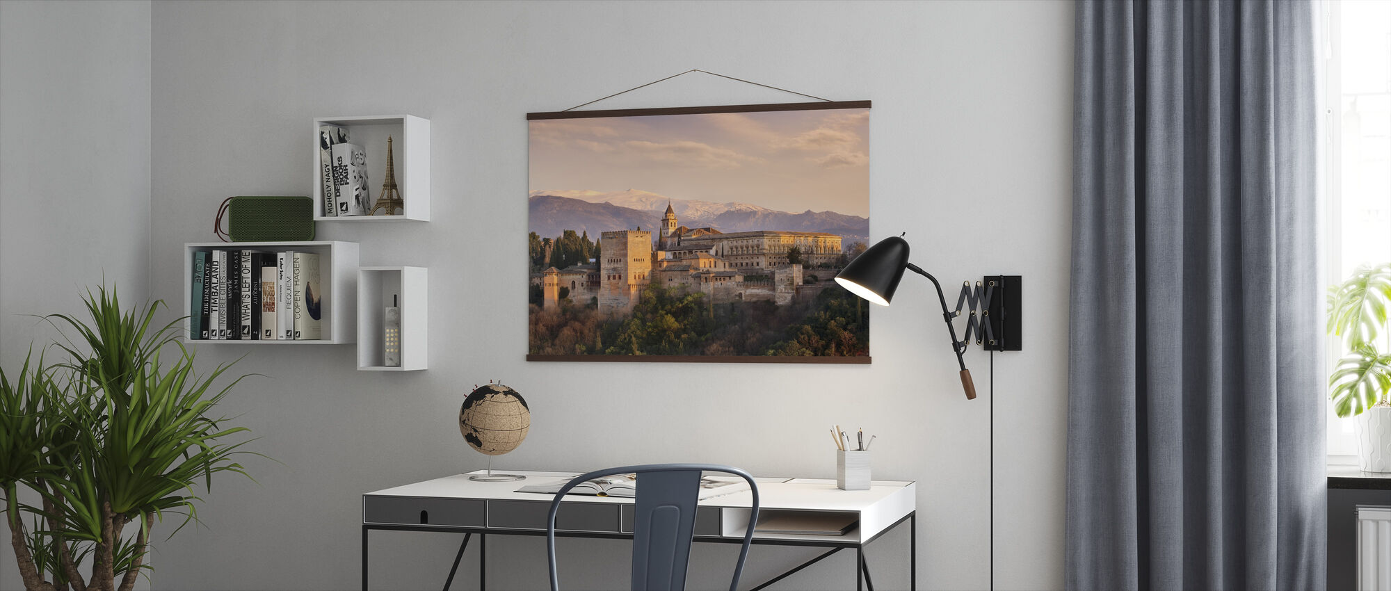 Alhambra in Granada - Poster - Office