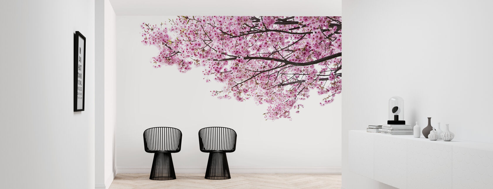 Pink Cherry Blossoms - Wallpaper - Hallway